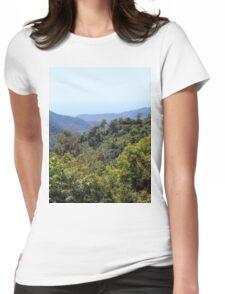 a vast Cuba landscape Womens Fitted T-Shirt