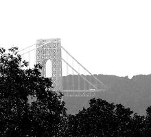 George Washington Bridge by Michael Berns