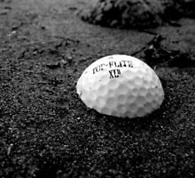 Golf Ball in the Sand by atoth