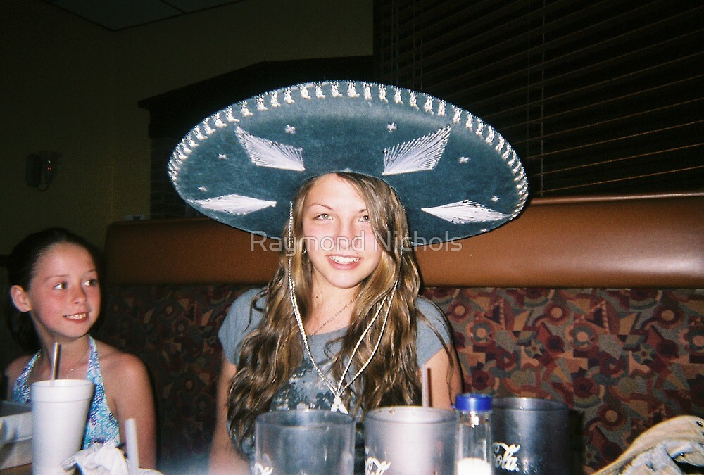 girl in sombrero by Raymond Nichols