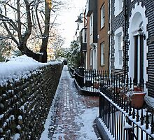 St. James's Place in the snow by John Nutley