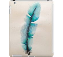 Blue Feather iPad Case/Skin