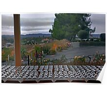 Temecula Vineyard wine tasting room Poster