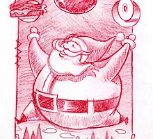 Big Santa gifts by Mike Cressy