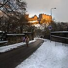 Edinburgh Winter II by Chris Clark