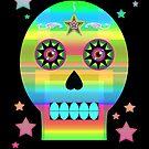 Aquarian Skull by Mystikka