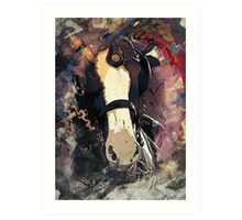 Equine Elegance: Budweiser Horses at the Calgary Stampede Art Print