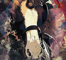 Equine Elegance: Budweiser Horses at the Calgary Stampede by Wilko van de Kamp
