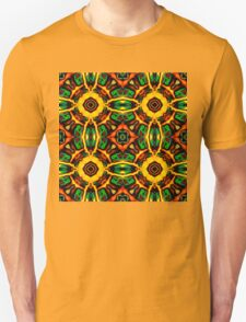 Tribal Visions Geometric Abstract Pattern 4 T-Shirt