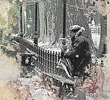 Jazz in Central Park by Wilko van de Kamp