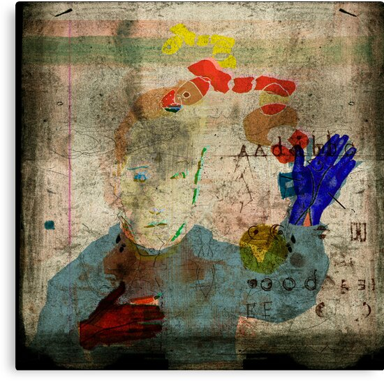 selfportrait,an attempt to identificate patterns 5 by frederic levy-hadida