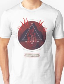 Mountain of Madness (red) Unisex T-Shirt