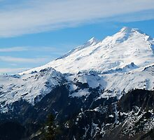 Frosting on top of Mount Baker by Octoman