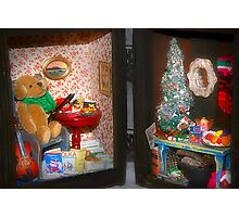 Christmas by the Box Photographic Print
