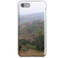 an exciting Rwanda landscape iPhone Case/Skin