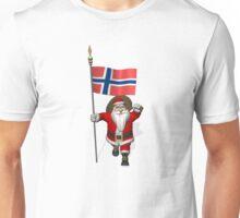 Santa Claus Visiting Norway Unisex T-Shirt