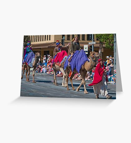We Three Kings of Orient Are Greeting Card