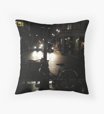 Night cycle Throw Pillow