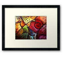 The Butterfly Wing Framed Print