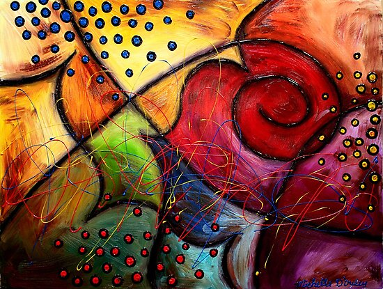 The Butterfly Wing by Abstract D'Oyley