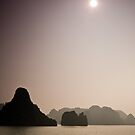 Halong Bay Seascape by Nickolay Stanev