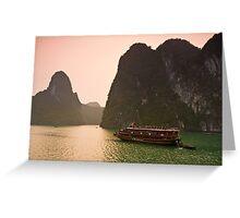 Halong Bay Sunrise Greeting Card