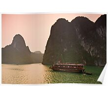 Halong Bay Sunrise Poster