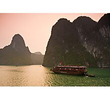 Halong Bay Sunrise Photographic Print