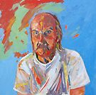 Portrait [Walt Evans ] madvlad ]of a very talented R.B.painter  by Virginia McGowan