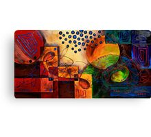 The Map of the Mind Canvas Print