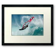 ' Big Air ' Framed Print