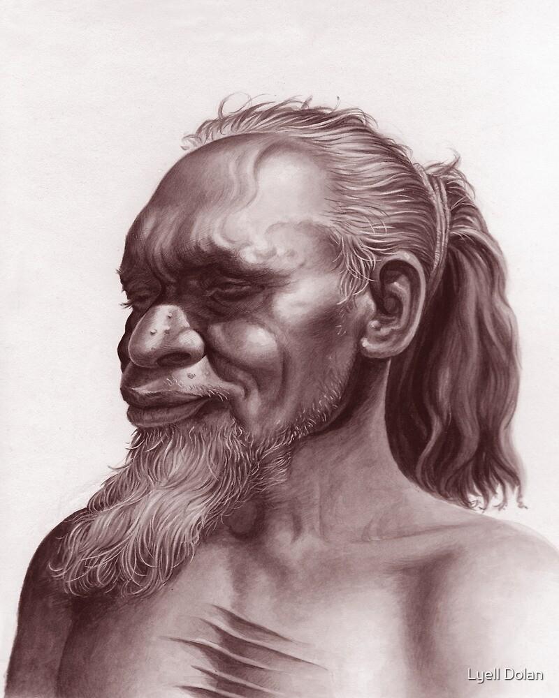 Aboriginal Portrait by Lyell Dolan