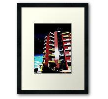 Pop Art Hotel, Brazil Framed Print