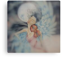 blue angel of peace © 2009 patricia vannucci  Metal Print