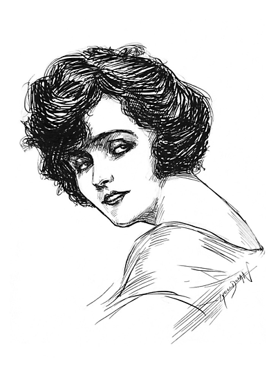The Actress by Lyell Dolan
