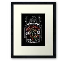 Sir Oscar of Astora's Estus Flask Poster Framed Print