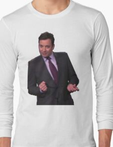 Jimmy Fallon Dancing Long Sleeve T-Shirt