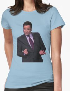 Jimmy Fallon Dancing Womens Fitted T-Shirt