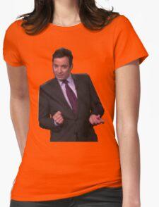 Jimmy Fallon Dancing Womens Fitted T-Shirt