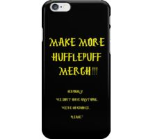 HUFFLEPUFF PROTEST VERSION 2 iPhone Case/Skin