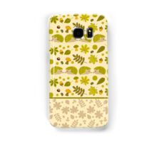 Hedgehogs in the Green Fall Samsung Galaxy Case/Skin