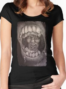 Into the mouth of madness Women's Fitted Scoop T-Shirt