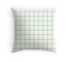 Grid  - Apple Throw Pillow