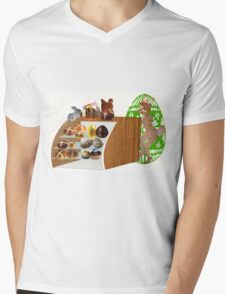 At the Store During Easter (904 Views) Mens V-Neck T-Shirt