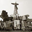 Vietnam War Scraps by Nickolay Stanev