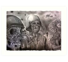 Skeleton Army Art Print