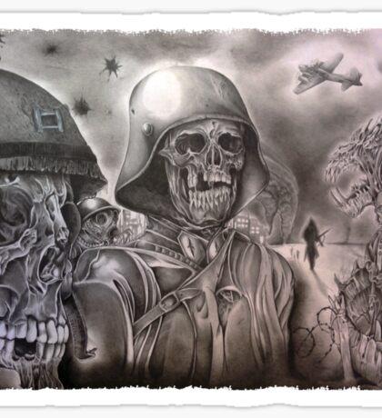 Skeleton Army Sticker