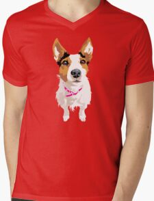 Lucy again Mens V-Neck T-Shirt