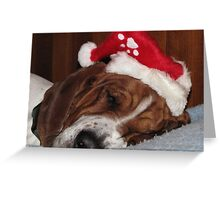 """""""Merry Christmas to all and to all a good night!"""" Greeting Card"""