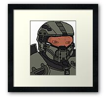 Master Chief Feels Framed Print